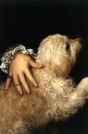 Primary view of object titled 'Portrait of the Duke of Mantua with His Dog'.