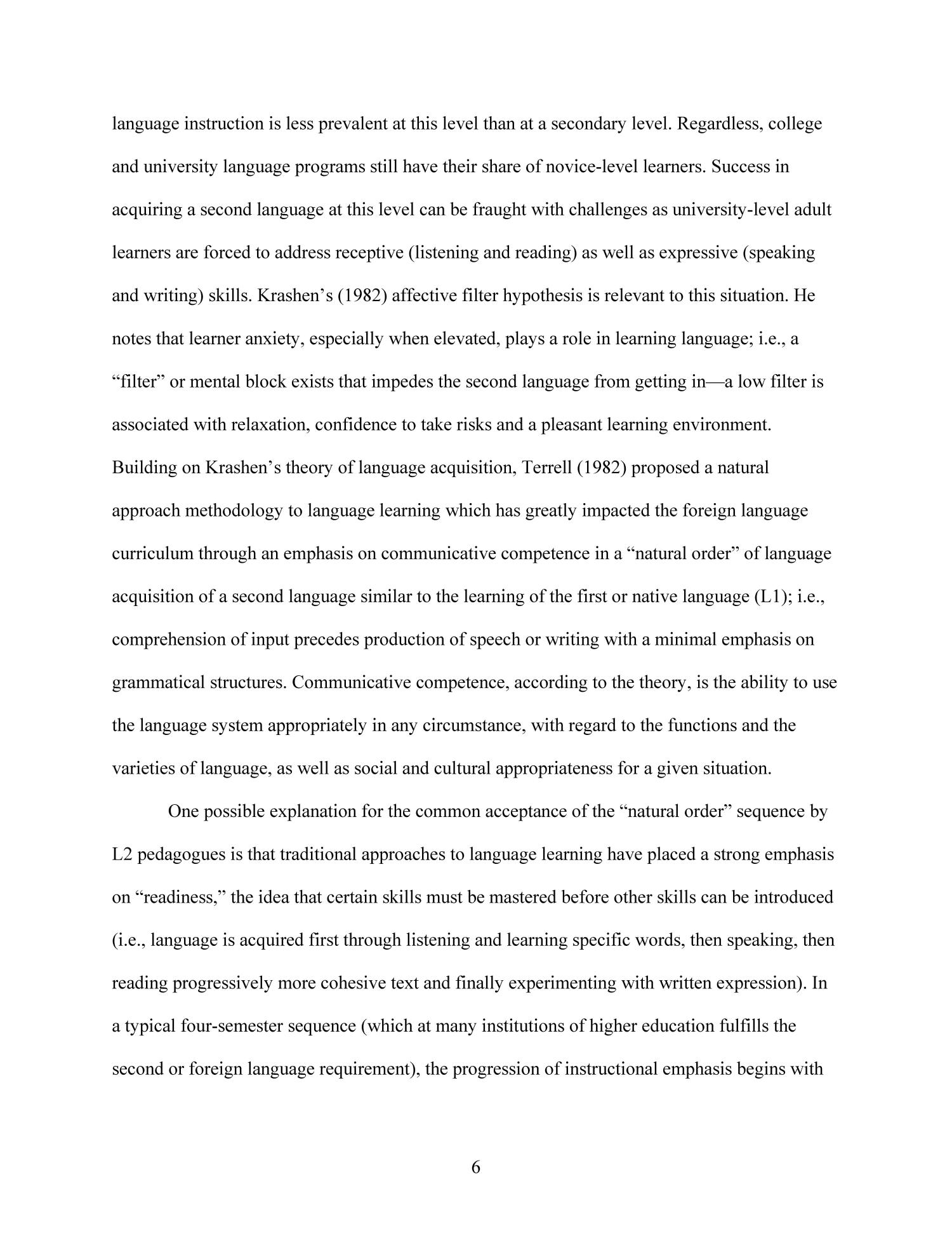 Effects of Technology-Enhanced Language Learning on Second Language Composition of University-Level Intermediate Spanish Students                                                                                                      6