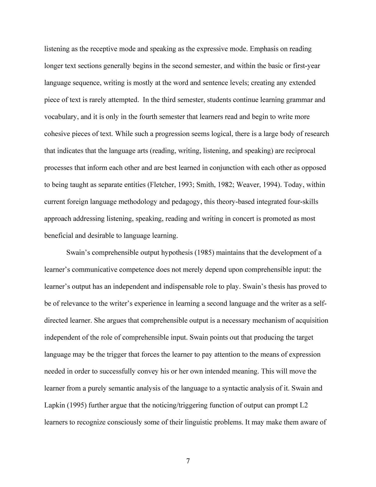 Effects of Technology-Enhanced Language Learning on Second Language Composition of University-Level Intermediate Spanish Students                                                                                                      7