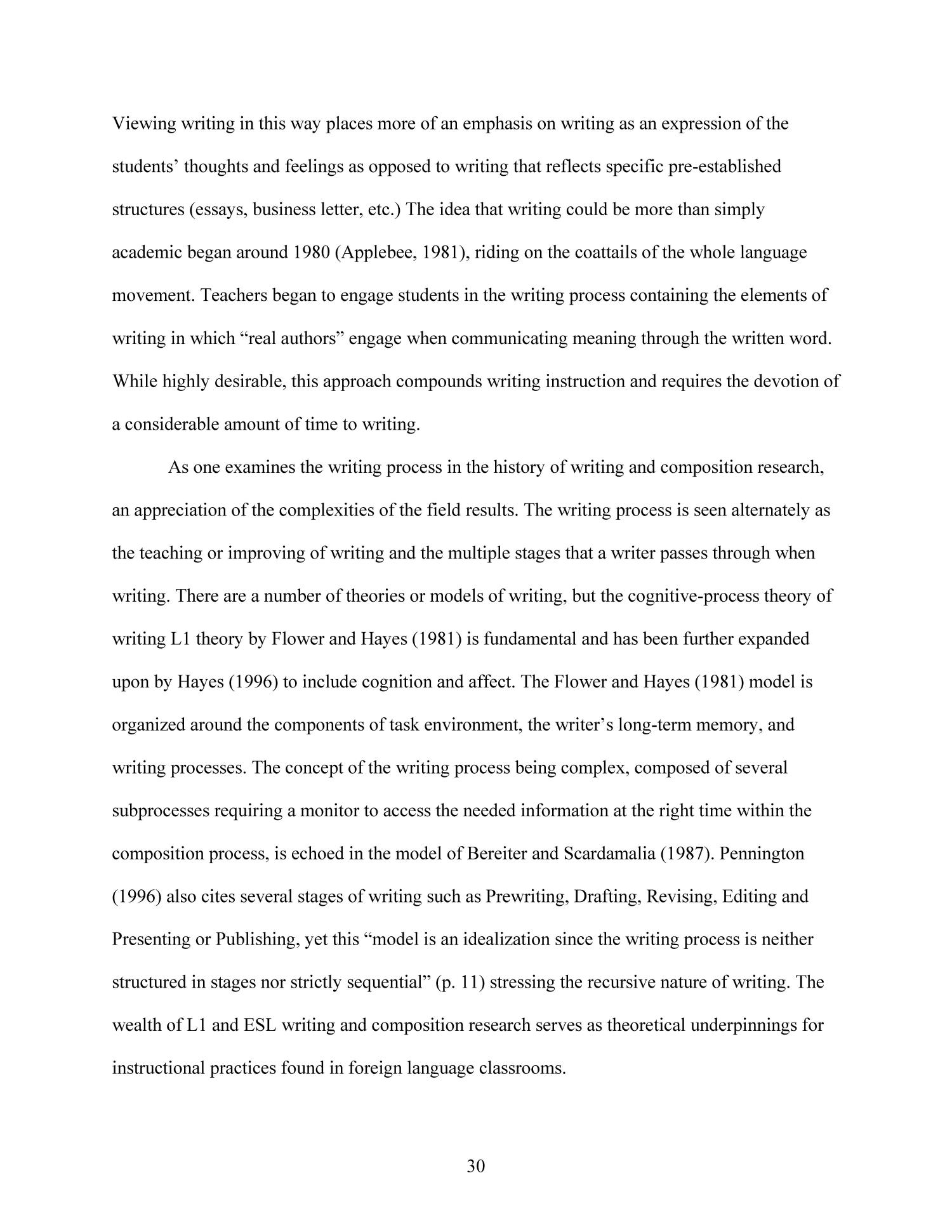 Effects of Technology-Enhanced Language Learning on Second Language Composition of University-Level Intermediate Spanish Students                                                                                                      30
