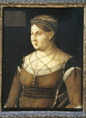 Primary view of object titled 'Caterina Cornaro, Queen of Cyprus'.