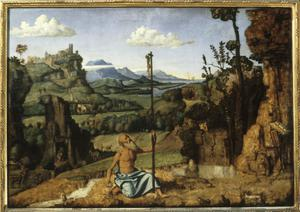 Primary view of object titled 'St. Jerome in the Wilderness'.