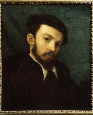 Primary view of object titled 'Young Man with Beard and Beret'.