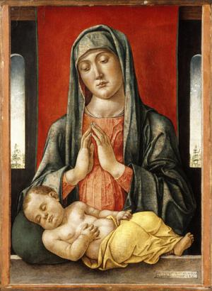 Primary view of Madonna and Child