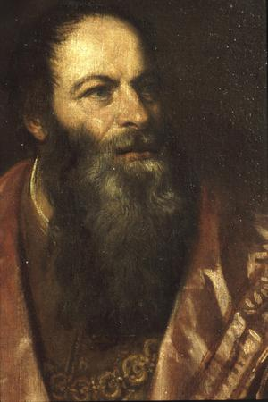 Primary view of object titled 'Portrait of Pietro Aretino'.