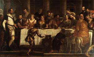 Primary view of object titled 'The Marriage Feast at Cana'.
