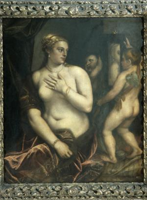 Primary view of object titled 'Toilet of Venus'.