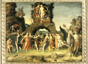 Primary view of object titled 'Mount Parnassus and the Gods'.