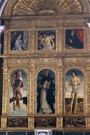 Primary view of object titled 'The Polyptych of St. Vincent Ferrer'.