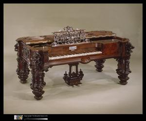 Primary view of object titled 'Square Piano'.