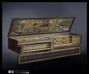 Primary view of object titled 'Double Virginal'.