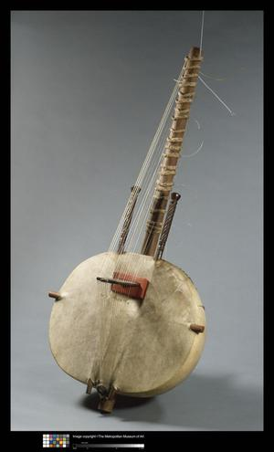 Primary view of object titled 'Mande Kora'.
