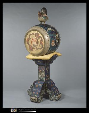 Primary view of object titled 'O-daiko (Barrel Drum)'.
