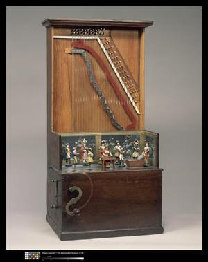Primary view of object titled 'Barrel Piano'.