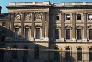 Primary view of object titled 'East Facade, Louvre'.