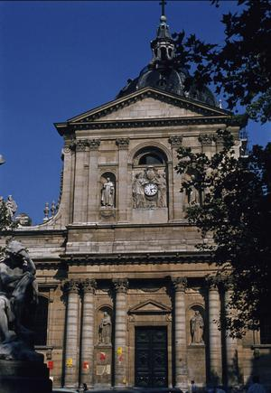Primary view of object titled 'Church of the Sorbonne'.