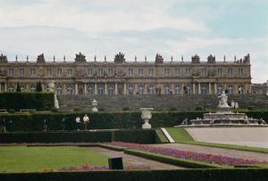 Primary view of Palace of Versailles. Garden Façade