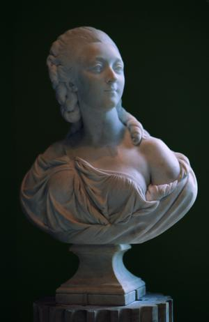 Primary view of object titled 'Bust of Countess Du Barry (1743-93)'.