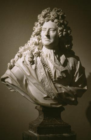 Primary view of object titled 'Bust of the Marquis de Villacerf (1629-99)'.