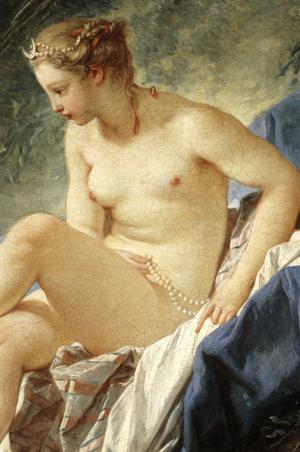 Primary view of object titled 'Diana at Her Bath'.