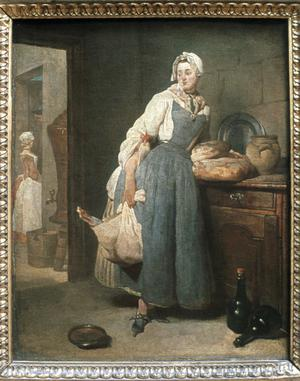 Primary view of object titled 'The Kitchen Maid'.