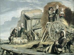 Primary view of object titled 'Return from the Hay Harvest'.