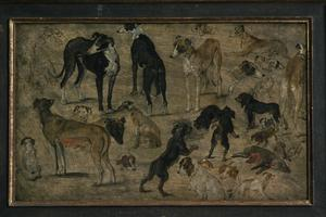Primary view of object titled 'Animal Studies of Dogs'.