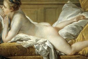 Primary view of Reclining Nude