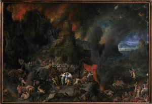 Primary view of object titled 'Aeneas in the Underworld'.