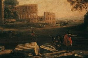 Primary view of object titled 'The Forum in Rome'.