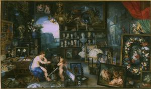Primary view of Allegory of Sight (figures by RUBENS)