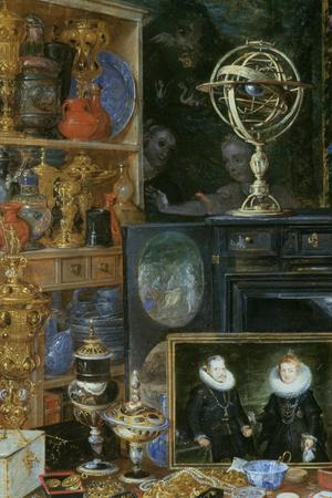 Primary view of object titled 'Allegory of Sight (figures by RUBENS)'.