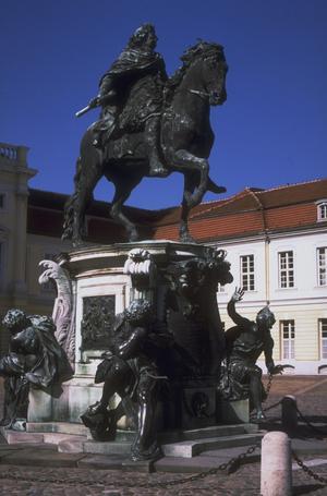 Primary view of The Great Elector, Friedrich Wilhelm (Der Grosse Kurfürst). Berlin, Schloss Charlottenburg