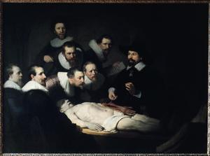 Primary view of object titled 'The Anatomy Lesson of Dr. Nicolaes Tulp'.
