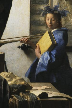Primary view of object titled 'Allegory of Painting (The Artist in His Studio)'.