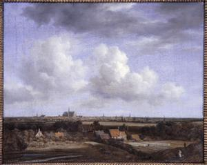 Primary view of View of Haarlem, Seen from the Dunes near Overveen