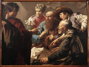 Primary view of Calling of St. Matthew