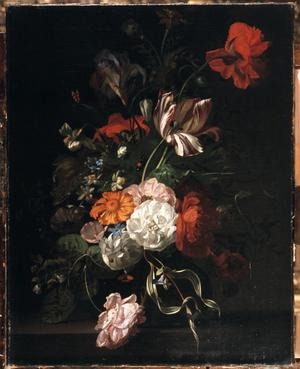 Primary view of object titled 'Flower Piece'.