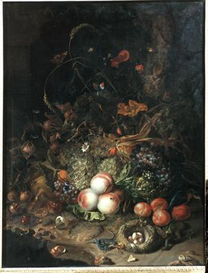 Primary view of Still Life with Fruit and Animals