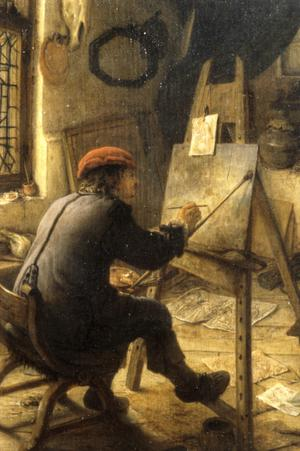 Primary view of object titled 'The Artist in His Studio'.