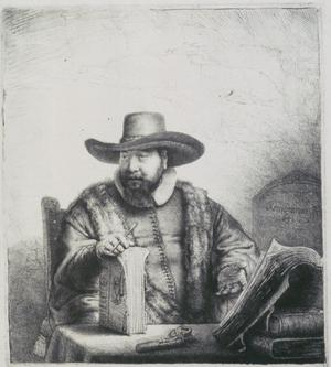 Primary view of The Mennonite Preacher Cornelius Claesz Anslo