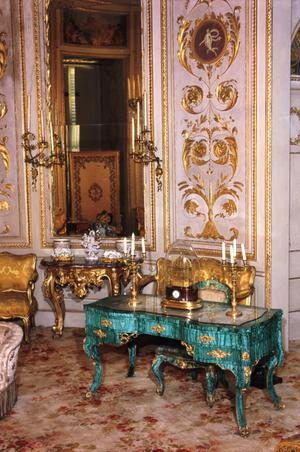 Primary view of object titled 'Royal Apartments: The Queen's Circular Music Room in the Pitti Palace'.