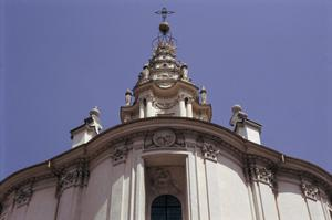 Primary view of object titled 'Church of S. Ivo della Sapienza'.