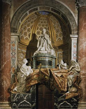 Primary view of Tomb of Pope Alexander VII Chigi