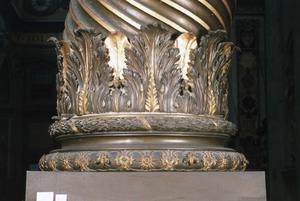 Primary view of object titled 'The Baldacchino. Rome, St. Peter's'.