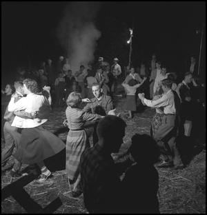 Primary view of object titled '[Square dancing at the stir-off(2)]'.