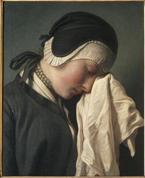 Primary view of object titled 'A Girl Crying'.