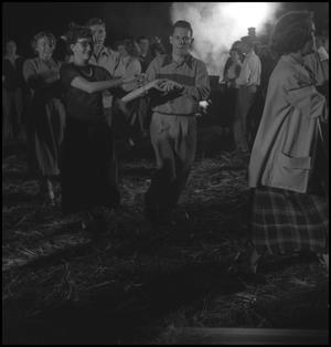 Primary view of object titled '[Dancing at the stir-off]'.