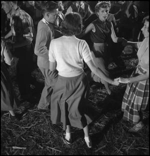 Primary view of object titled '[Square dancing at the stir-off(3)]'.