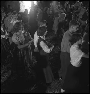 Primary view of object titled '[Couples square dancing(1)]'.